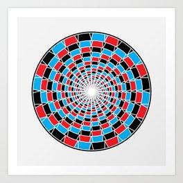 GodEye9 Art Print