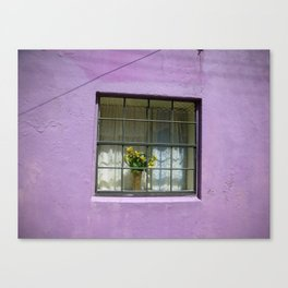 An Alley in Curacao Canvas Print