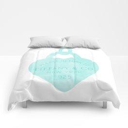 Tiffany heart locket charm Comforters