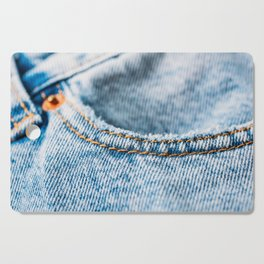 Jeans Pocket With Denim Texture, Jeans Texture, Denim Texture, Textured Background Cover, Pattern Cutting Board