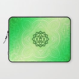 Heart Chakra by Golden Ascension Laptop Sleeve