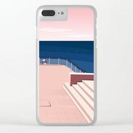 Hôtel du Cap-Eden-Roc II, la terrasse Clear iPhone Case