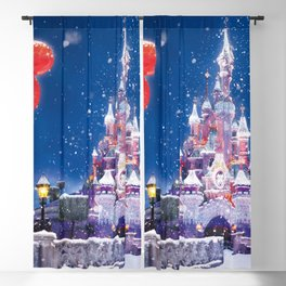 Winter fairy tale Blackout Curtain