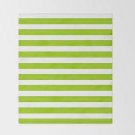 marinière mariniere Green version Throw Blanket
