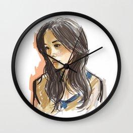 elementary: joan watson Wall Clock