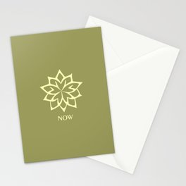 NOW ZEN Moss Green color Stationery Cards