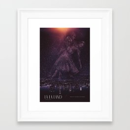 La La Land Alt Poster Framed Art Print