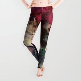 Dark Inks - Alcohol Ink Painting Leggings