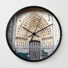 El Salvador de Ávila Wall Clock