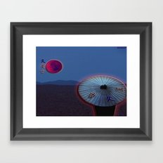 U.M.B Framed Art Print