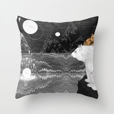 Tomorrow Bear Throw Pillow