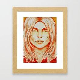 I Create Myself Framed Art Print