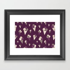I Heart Patterns #006 Framed Art Print
