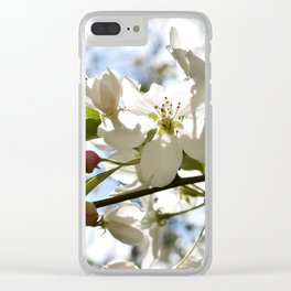 Crabapple FLowers 06 Clear iPhone Case