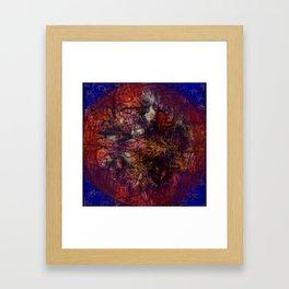 Confused world. Framed Art Print