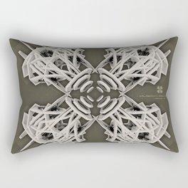 Calaabachti Arch Rosetta [synthetic version] Rectangular Pillow