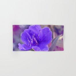 Melancholy violet by #Bizzartino Hand & Bath Towel