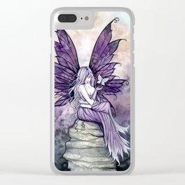 Letting Go Fairy Fantasy Art Clear iPhone Case