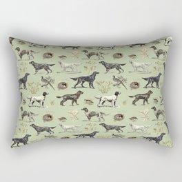 Bird-dog pattern Rectangular Pillow
