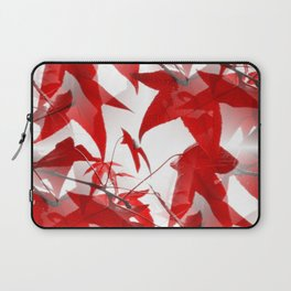 Red Leaves - Seamless Laptop Sleeve