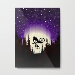Moon Whip Metal Print