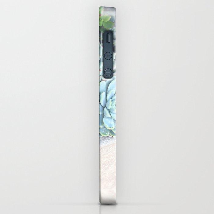 Succulent Container iPhone Case