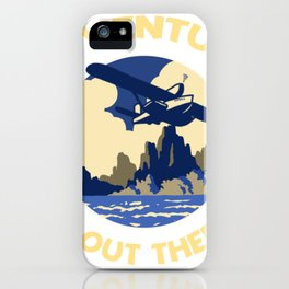 Adventure is Out There! iPhone Case