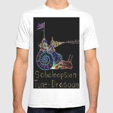 Sobaloopsian Tune-Dragoon  Mens Fitted Tee White MEDIUM