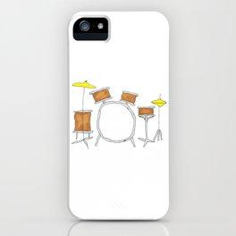 Drums iPhone Case