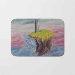 No. 4, Earthen Island Bath Mat