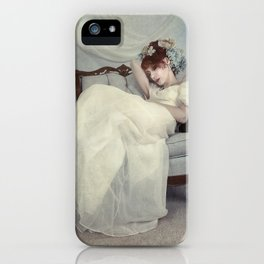 Sleeping Through the Dull Fete iPhone Case