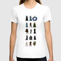 valar morghulis T-shirts featuring The Valar (dark) by wolfanita