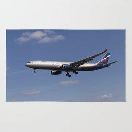 Aeroflot Airbus A330 Rug