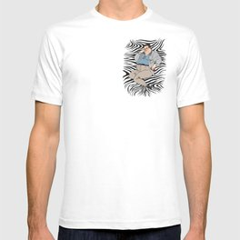 Jurassic Park Pin-ups ~ Dennis Nedry T-shirt