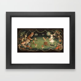 The Fairy Dream by Emily Winfield Martin Framed Art Print