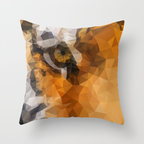 Burning Bright! Throw Pillow