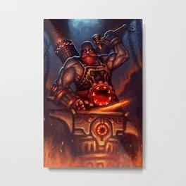 Smite - Vulcan Metal Print