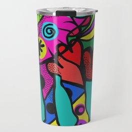 psychedelephant Travel Mug
