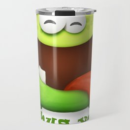 Happy Monster Travel Mug