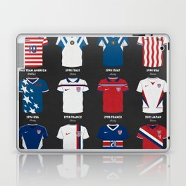 The Evolution Of The Us World Cup Soccer Jersey Laptop & iPad Skin