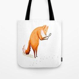 Foxy Detective Tote Bag
