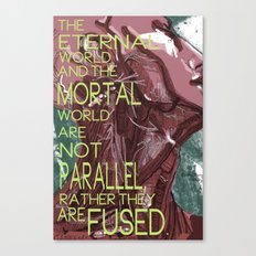 Mortal/Eternal Canvas Print