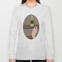 Champagne Mommy Long Sleeve T-shirt