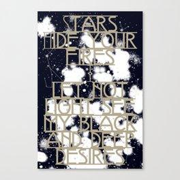 Daggers Canvas Print
