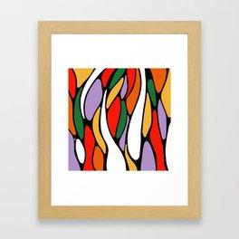 J'y arrive-Getting there- Serré. Framed Art Print