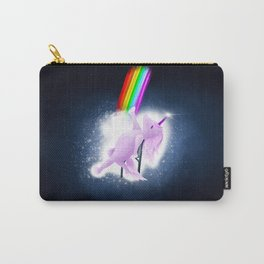 Unicorn Flashdance Carry-All Pouch