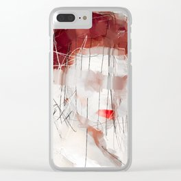 and more than a thousand kisses Clear iPhone Case