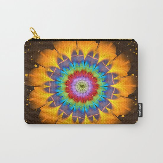 Tropical fantasy flower Carry-All Pouch