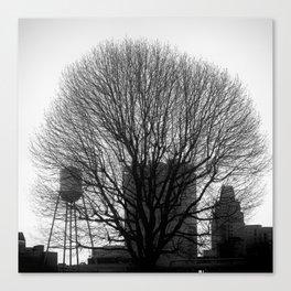 City Tree Canvas Print