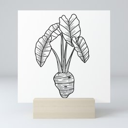 UrbanNesian Taro Mini Art Print